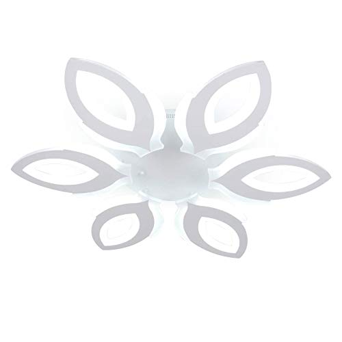 Lámpara de techo LED de 90 W, con mando a distancia, regulable, diseño moderno, para salón, dormitorio, estudio