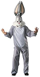 Officially licensed Bugs costume comes complete with jumpsuit and oversized head Rubies lets you pair costumes with Daffy, Taz, Elmer and the rest of the Looney Tunes crew Costume officially licensed to Rubies Costume Company - monster or movie star,...