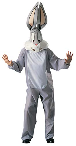 Rubie's-déguisement officiel - Looney Tunes - Costume Adulte Bugs Bunny - Taille Standard- P15558