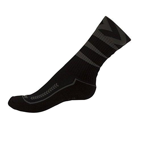 Hummel Tech-2 Indoor Socken - kurz, Color:black (2001);Size:12
