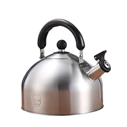 FANg Bollitore in Acciaio Inox 4L/5L Whistling Camping Macchine Bollitore, Outdoor Indoor Grande Gas Bollitori Bollire Rapida for Caccia Pesca Motohome-Red bollitore Campeggio Esterno