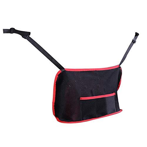 Car Mesh Organizer, Universal Handbag Holder Seatback Mesh Organizer Per Barrier, Barrier of Backseat Pet Kids, Cargo Tissue Purse Holder
