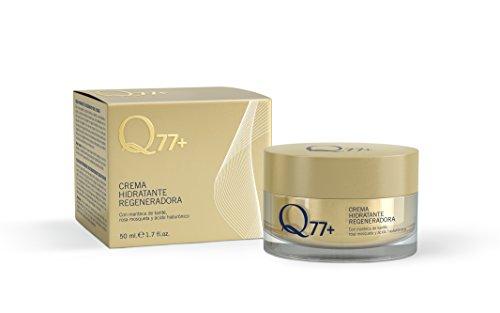 Q77+ Crema hidratante regeneradora facial | Con Ácido