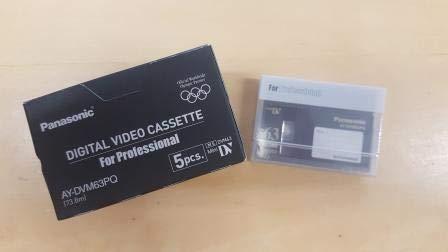 Read About Panasonic AY-DVM63PQ Professional Quality MiniDV 63min Data Tape Cartridge 5 Packs