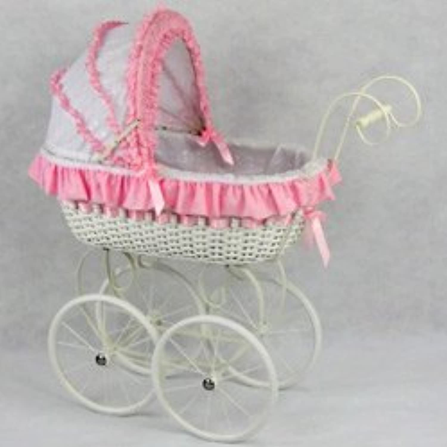 Regal Doll Carriages Jacqueline Doll Carriage Wicker Furniture