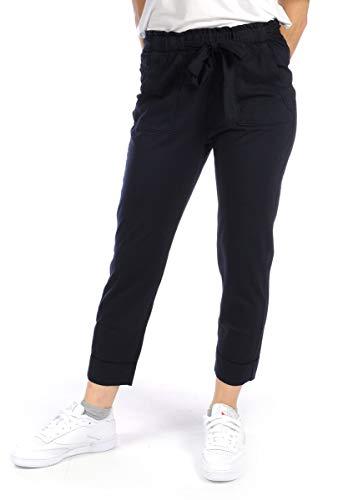 DEHA ABBIGLIAMENTO Pantalone Tuta Pantalone Jogger Donna Blu B24465 S