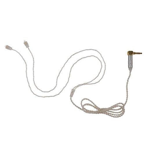 REYTID Ersatz Audiokabel kompatibel mit Ultimate Ears OFC UE TF10 TF15 SF3 SF5 5EB 5pro TripleFi 15vm Upgrade Lead Kabel