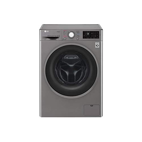 LG FWJ685SS 8kg Wash 5kg Dry 1400rpm Freestanding Washer Dryer - Graphite
