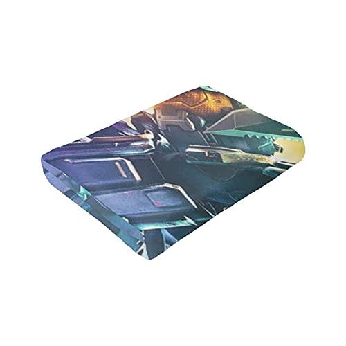 Manta de franela Halo The Master Chief Collection Colorido 50 x 40 pulgadas, aire acondicionado de verano súper suave, manta impresa en 3D para el hogar o la cama, manta decorativa