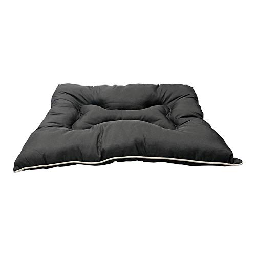 KOZI PET Store Super Snoozer Waterproof Soft and Light Dog/Cat Mattress Bed (Black)- Small