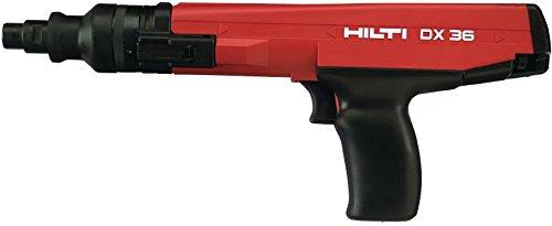 Hilti 384033 DX36 Semi-Automatic Powder-Actuated Fastening Nail Gun Package.27 Caliber