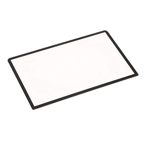 MagiDeal Protetor De Tela Superior LCD Cover Lens Repair Para New 3DS XL LL Preto