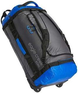 Eagle Creek - Cargo Hauler 90L Foldable Rolling Duffle Bag - Blue/Asphalt