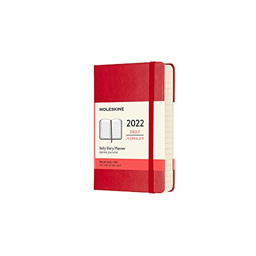 Moleskine - Agenda Diaria 2022 de 12...