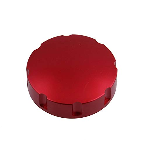 MeterMall Auto For Gas Fuel Tank Filler Oil Cap Cover for Piaggio Scooter GTS GTV GT LX red