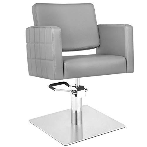 GABBIANO silla de peluquería Hydraulic barber ANKARA Gris