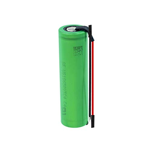 HTRN Batería De 3.6v 2100mah 8650vtc4, BateríAs Recargables + Linie De DIY para Linterna 1PCS