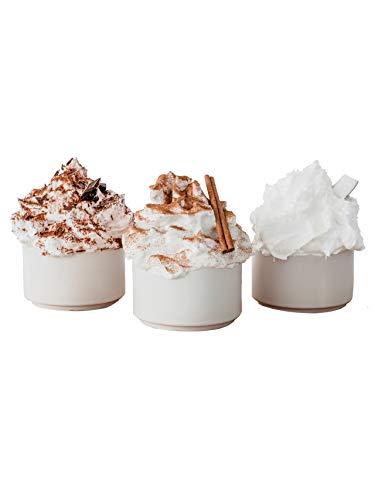 Pumperlgsund Eiweiß Fluff | Fluff Box | Klassikmix-Fluffbox für 12 Fluffs | Kokos, Zimt & Schoko Geschmack | Low Carb | Enthält Erythrit und Tapioka Sirup