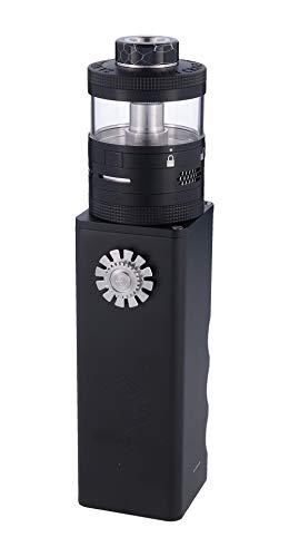 Steam Crave Titan E Zigarette bis 84 Volt Ausgangsleistung Verdampfer als RDA und RDTA nutzbar Farbe, Schwarz, 1 stück