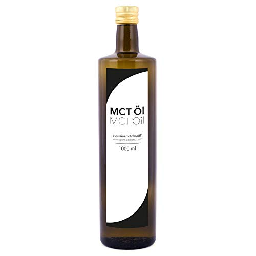 detoxfy MCT Oil, Premium Quality, 1 Pack (1x 1000ml)