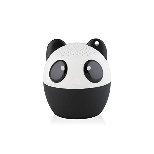 TBS2520 Mini Enceinte Bluetooth sans Fil Mini-Animal Panda - Super Mignon - 3 Watts - Fonctions Kit Main-Libre Téléphone & Selfie - Appli pour Jouer - pour iPhone Samsung Huawei etc & Tablette