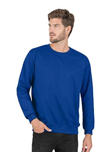 Trigema Herren Sweatshirt 674501 Sweat-Shirt, Bleu (Royal 049), XXXXXL Homme