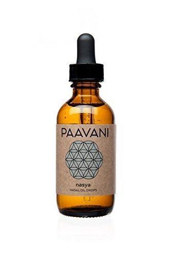 PAAVANI Ayurveda Nasya Oil - Made in USA - 100% Organic -...