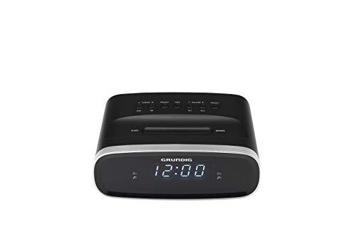 Grundig Sonoclock 1500 Wecker Schwarz/USB-Ladefunktion/UKW-Tuner/Weckfunktion/Sleep Funktion