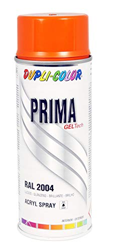 DUPLI-COLOR Lackspray 400 ml RAL 2004, 1 Stück, orange,788765