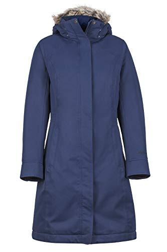 Marmot Women Wm's Chelsea Coat Leichte Daunenjacke, 700 Fill-Power, warmer Parka, Wintermantel, wasserabweisend, winddicht, Arctic Navy, M