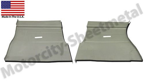 Motor City Sheet Metal Works With 1961-71 DODGE TRUCK FRONT FLOOR PAN PAIR