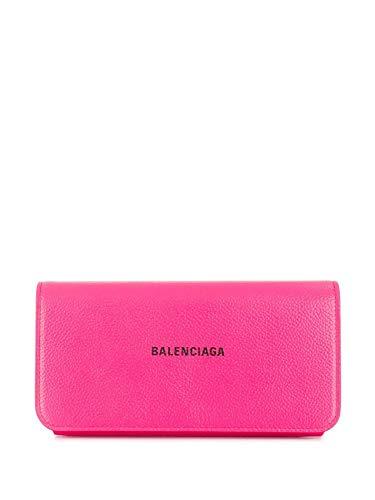 Luxury Fashion | Balenciaga Dames 5942891IZ435660 Fuchsia Leer Portemonnees | Lente-zomer 20
