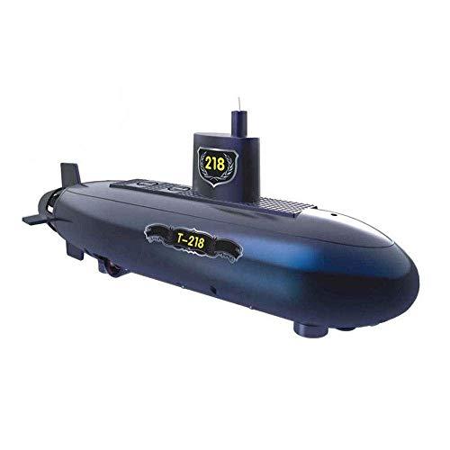 Wjsdmm Wiederaufladbare Elektrische U-Boot for Kinder Erwachsene Hobby Spielzeug Geschenke-Lustige RC Mini U-Boot 6 Kanäle Fernbedienung Unter Wasser Schiff RC Boot Modell Kinder S