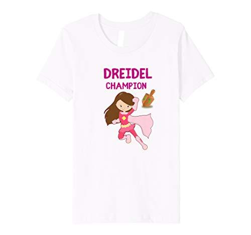 Kids Dreidel Happy Hanukkah Gelt Kids & Girls Premium T-Shirt