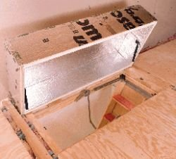 Yankee Insulation 3570.011 Therma-Dome Attic Stair Cover