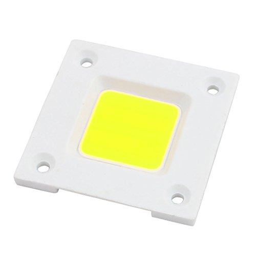 DealMux CC SMD chip Bulbos Cuentas 6-8V de potencia de 50W LED blanco puro para el reflector de la lámpara