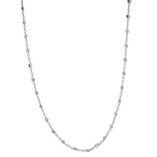 MY iMenso CUBETTO halsketting zilver 45 cm 27-0012-45