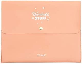 Mr. Wonderful Funda para Agenda Wonderful Stuff, Multicolor, 28 x 22,5 x 1 cm