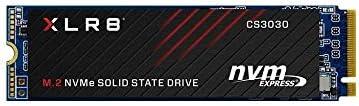 PNY XLR8 CS3030 1TB M.2 PCIe NVMe Gen3 x4 Internal Solid State Drive (SSD), Read Up to 3,500 - M280CS3030-1TB-RB