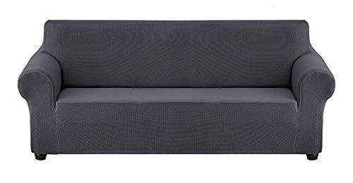 BEYRFCTA Elastic Sofa Cover, Sofa Cover, Waterproof Sofa Cover, Sofa Slipcover, Couch Cover, Suitable for Children, Pets-Blue 8_180-240cm,