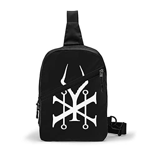 Sound Poster Garden Chest Bag Gym Chest Package Sling Bag Daypack pecho pecho mochila bandolera bandolera para unisex