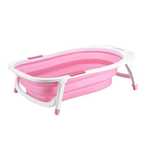 YWYW Bañera de hidromasaje Inflable Bañera Plegable Accesorios de baño Portátil Lavabo Plegable Bañera ASLIQUE ANTILLO SPA Bañera Baño Caja de Almacenamiento Piscina (Color : Pink)