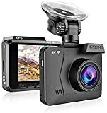 4K Dash Cam with WiFi GPS, AZDOME M06 Dashboard Camera Recorder Driving Recorder Ultra HD 2160P Car Camera with 170 °Wide Angle, WDR, Super Night Vision,G-Sensor