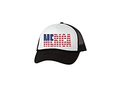 Rogue River Tactical Funny Trucker Hat America Merica Baseball Cap Retro Vintage Patriotic USA Flag America