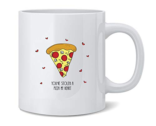 Poster Foundry Youve Stolen A Pizza My Heart Funny Graphic Ceramic Coffee Mug Tea Cup Fun Novelty Gift 12 oz