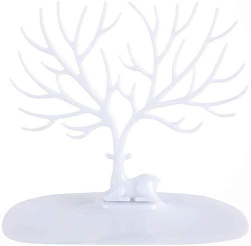 XYDZ Decorative Deer Antler Tree Design Stand, Jewelry Organizer Stand,...
