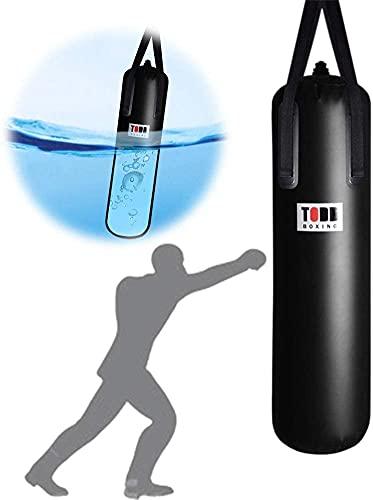 WXFCAS Bolso pesado de agua de la profesión, bolsa de perforación de agua for el boxeo for colgar en el hogar Boxeo colgando Bolsa de perforación Fortalecer el excedente muscular for entrenar ejercici