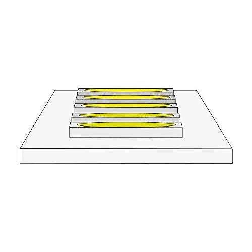 LED Strip QualityFlex® Select, 500cm, IP00, 24V DC, 19.2W/m 6000K, konfektioniert 2.5cm