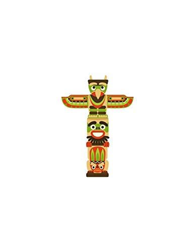 sticker enfant : totem - Format : 34 x 48 cm