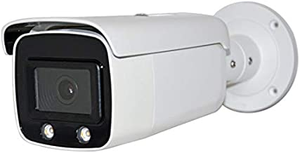 4MP Color Night Vision Video PoE Outdoor Bullet Network Camera with 4mm Fixed Lens, Micro SD Card Slot, H.265+, IP67 Waterproof, WDR, 3D DNR, VCA, HS-VUB14G1-I